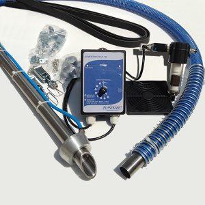 A foto mostra os componentes de um Alimentador Pneumatico AP-100 IT