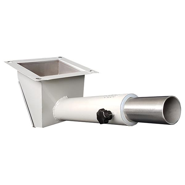 Imagem mostra uma Caixa de Sucção de secador