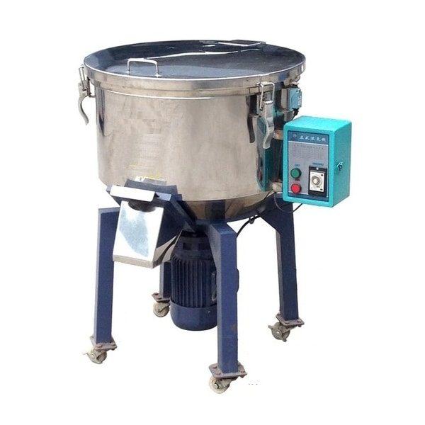 Imagem mostra um misturador de plásticos