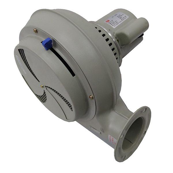 Imagem mostra o modelo de moto ventilador mais utilizado em Secadores de plástico